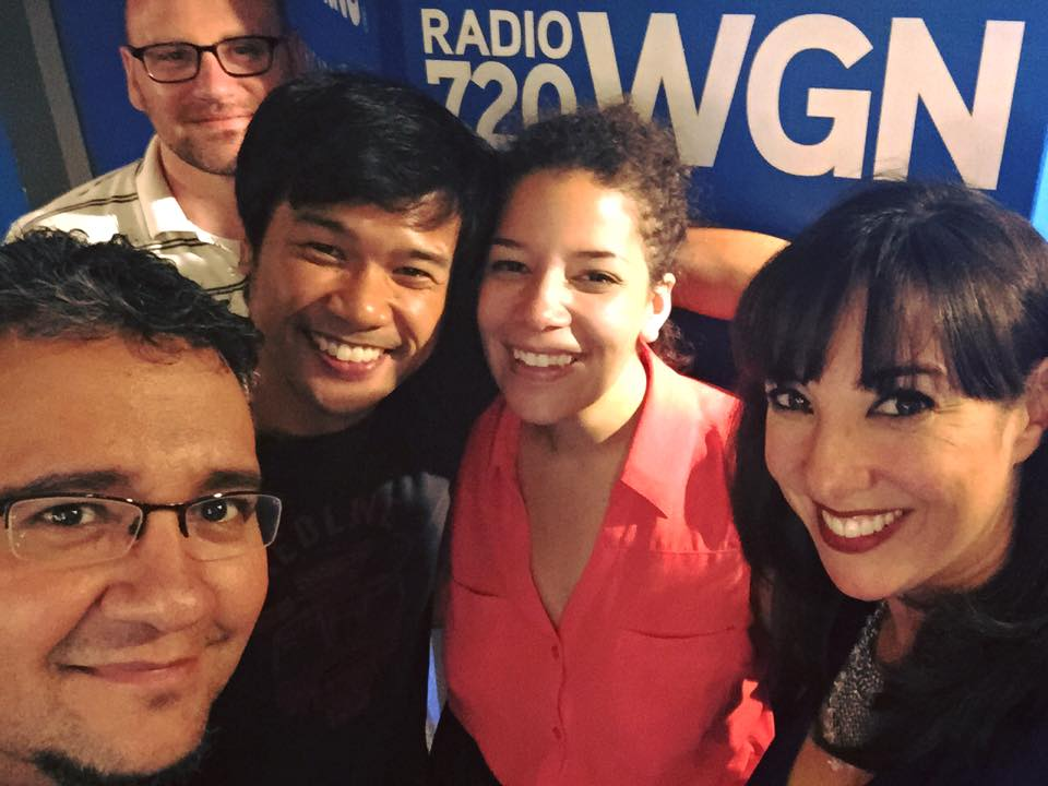 In Love and Warcraft team interviewed by Patti Vasquez on WGN Radio